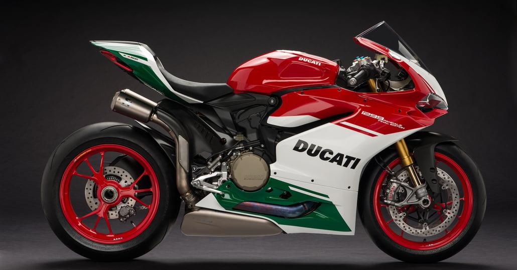 Ducati Panigale 1299 R Final Edition: tributo al bicilindrico