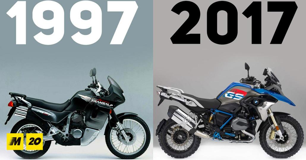 1997-2017. La grande rivoluzione delle maxi enduro stradali