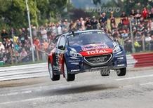 WRX di Francia. Hansen e Peugeot predoni di Loheac