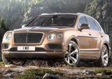 Bentley Bentayga: ecco il SUV da 301 km/h