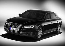 Audi A8 L Secuity: i quattro anelli più sicuri di sempre