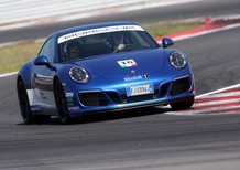 Porsche 911 GTS e Michelin Pilot Sport, in pista a Misano [Video]