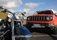 Con Jeep e Harley alla European Bike Week 2015