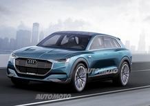 Audi e-tron quattro concept: un futuro elettrico per i SUV?