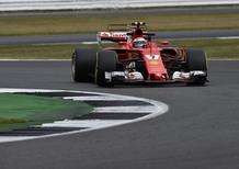 F1, GP Silverstone 2017, Raikkonen: «Le condizioni variabili sono state un vantaggio»