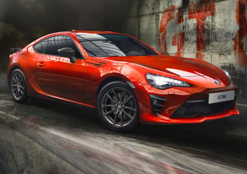 Toyota GT86 2.0 Orange Limited Edition