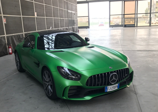 AMG Driving Academy Italia, in pista con le Mercedes-AMG
