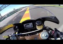 Un giro di Valencia sulla Honda RC213V-S