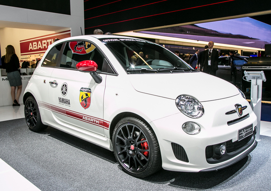 Abarth al Salone di Francoforte 2015