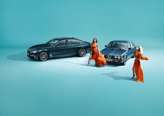 BMW Serie 7 40 Jahre, edizione speciale per il compleanno