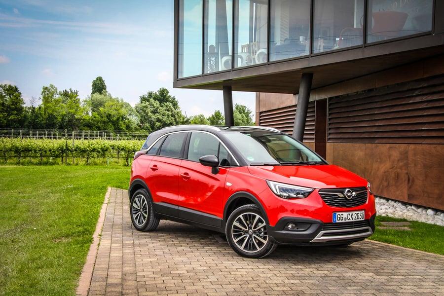 Opel Crossland X (2017->>)