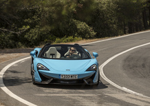 McLaren 570S Spider, la cabrio senza compromessi [Video primo test]