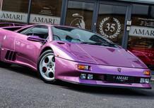La Lamborghini Diablo che fu di Jay Kay dei Jamiroquai in vendita