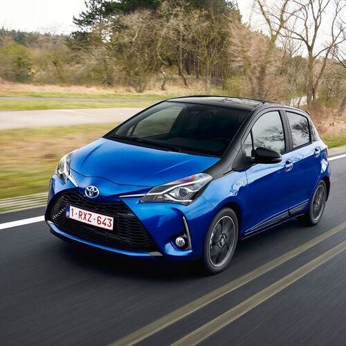 toyota yaris hybrid test drive amboxing prove. Black Bedroom Furniture Sets. Home Design Ideas