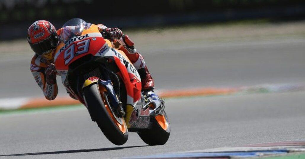 MotoGP. Marquez primo nel warm-up a Brno