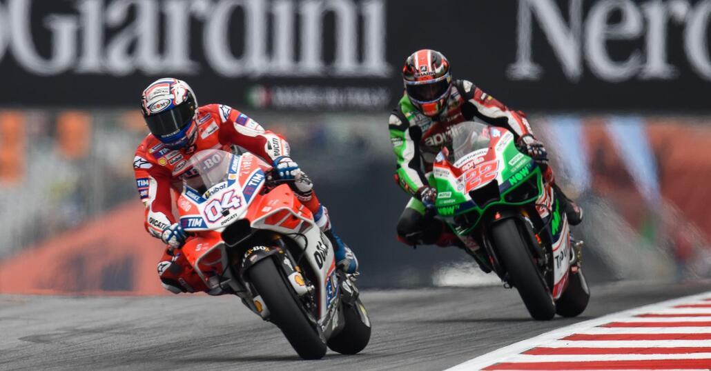 MotoGP. Dovizioso è il più veloce nelle FP2 a Spielberg