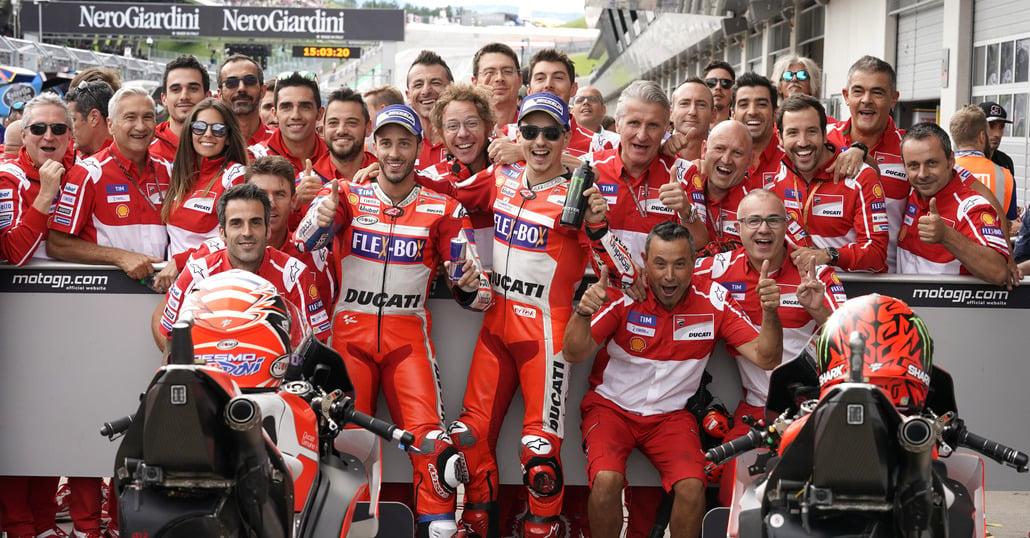MotoGP. Ducati: Ci giochiamo la vittoria
