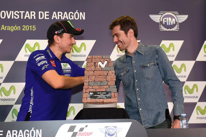 MotoGP 2015. Il trofeo del GP Movistar di Aragón? E' firmato Lorenzo