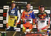 MX 2017. Interviste dal podio. Il GP della Svizzera