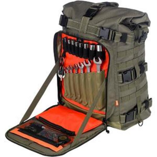 8dc720e211 EXFIL-80 BAG, lo zaino porta attrezzi per il chi viaggia in moto ...