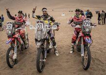 Cross-Country Rally 2017. Atacama. Doppietta cilena. Quintanilla (Husqvarna) e Casale (Quad Yamaha)