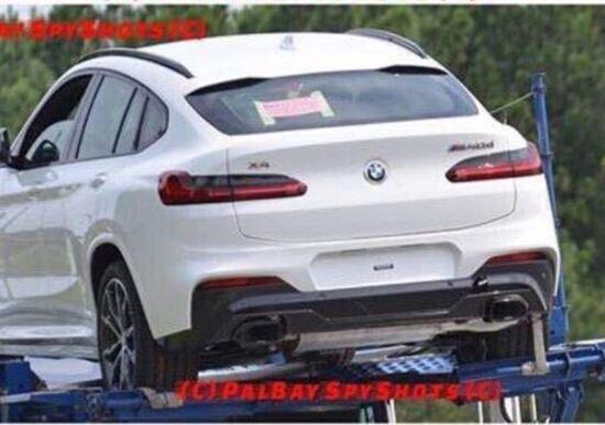 BMW X4 my 2018: eccola senza veli