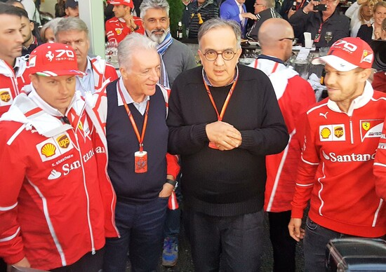 GP Italia F1 2017 Monza, Ferrari festeggia i 70 anni nel Paddock