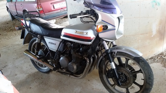 La Kawasaki Z400 J al momento dell'acquisto