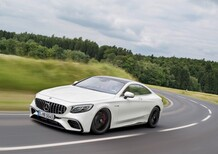 Mercedes Classe S Coupé restyling, debutto a Francoforte