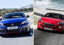 Quale Peugeot, Confronto: 308 GTi by PS Vs RCZ R