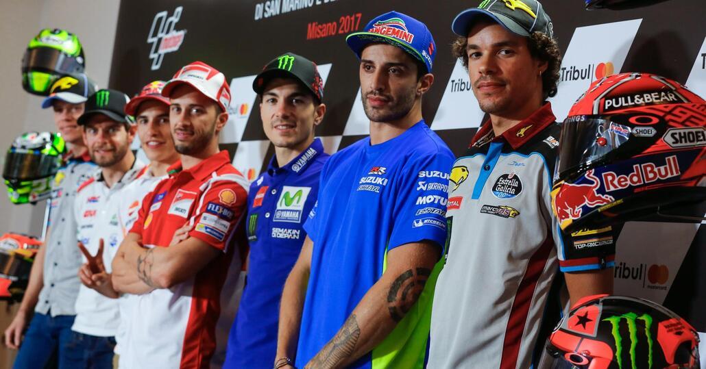 MotoGp, a Misano spicca assenza Rossi. Dovizioso: Surreale essere leader