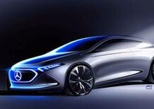 Mercedes EQ A, diffuso un nuovo teaser