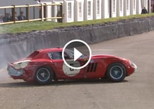 Ferrari 250 GTO finisce a muro a Goodwood [Video]