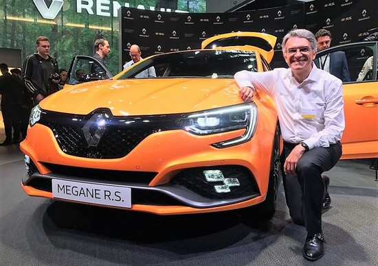 Renault Megane RS, Salone Francoforte 2017: intervista a Patrice Ratti, capo RS