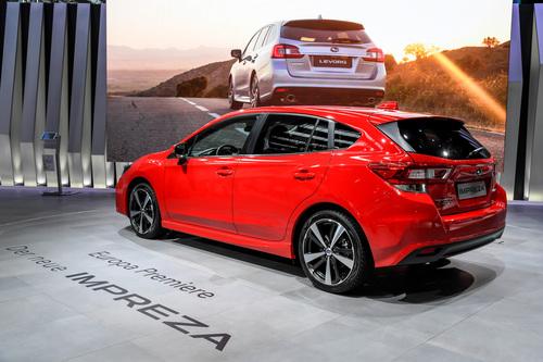 Nuova Subaru Impreza al Salone di Francoforte 2017