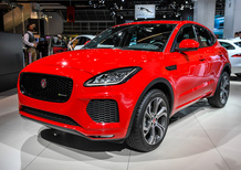 Jaguar E-Pace, SUV compatto e sportivo al Salone di Francoforte 2017 [Video]