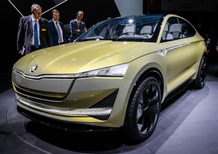 Skoda Vision E Concept al Salone di Francoforte 2017 [Video]