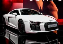 Audi R8 V10 RWS a trazione posteriore al Salone di Francoforte 2017 [video]