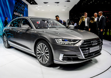 Audi A8 al Salone di Francoforte 2017