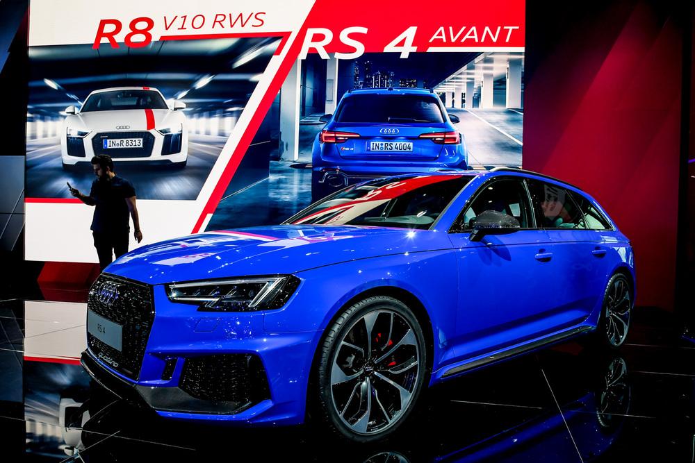 Nuova Audi RS 4 Avant, esordio al Salone di Francoforte 2017