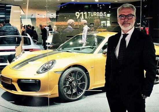 Salone di Francoforte 2017, Porsche: intervista a Pietro Innocenti