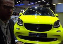 smart Brabus Ultimate E Concept al Salone di Francoforte 2017 [Video]
