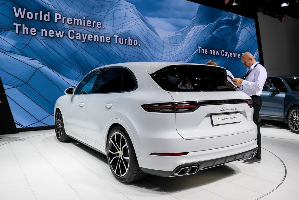 Porsche Cayenne Turbo al Salone di Francoforte 2017