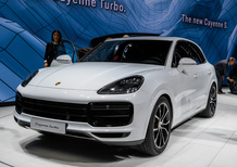 Porsche Cayenne Turbo al Salone di Francoforte 2017 [Video]