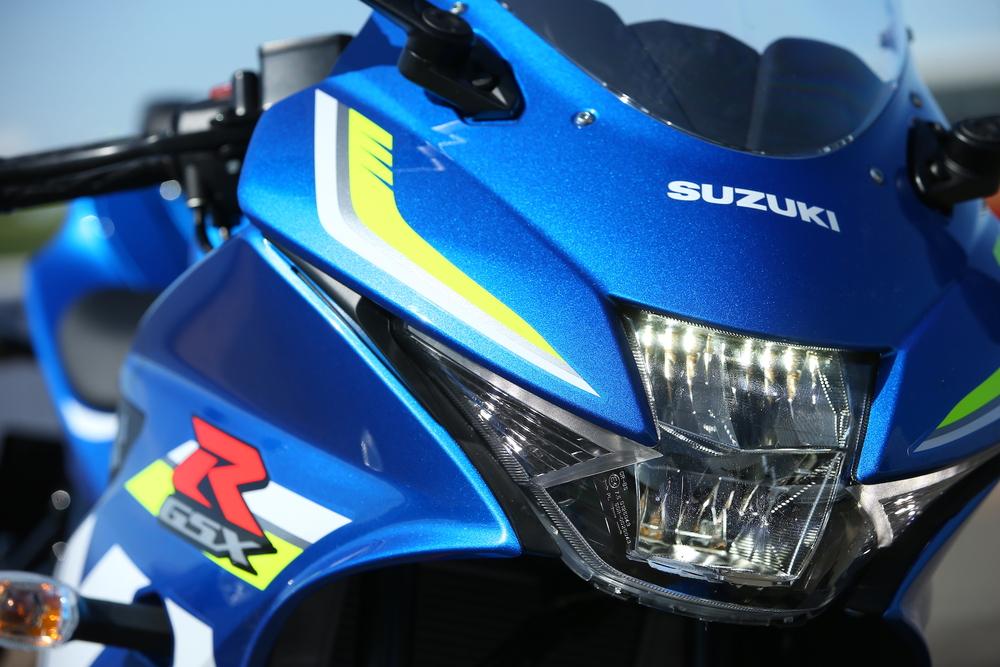 Il gruppo ottico della Suzuki GSX-R 125