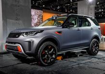 Land Rover Discovery SVX al Salone di Francoforte 2017