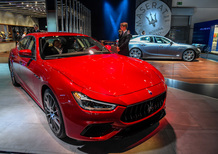 Maserati Ghibli restyling al Salone di Francoforte 2017 [video]