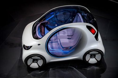 smart vision EQ fortwo al Salone di Francoforte 2017