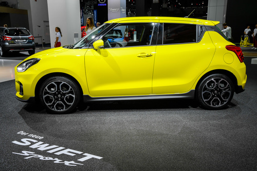 Suzuki Swift Sport al Salone di Francoforte 2017