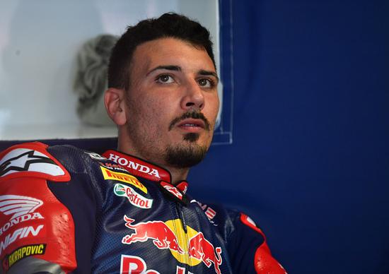 SBK. Giugliano e Takahashi si alterneranno sulla Honda Red Bull